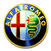 logo marki samochodu Alfa Romeo 156